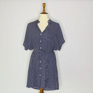 Forever 21 | Grid Print Shirt Dress